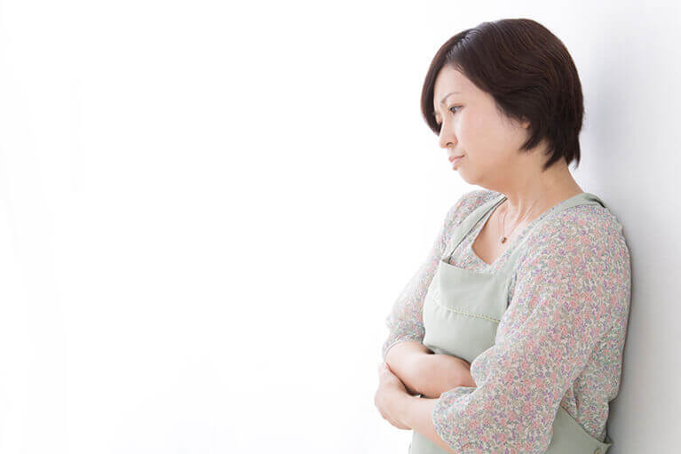 卵巣腫瘍の症状